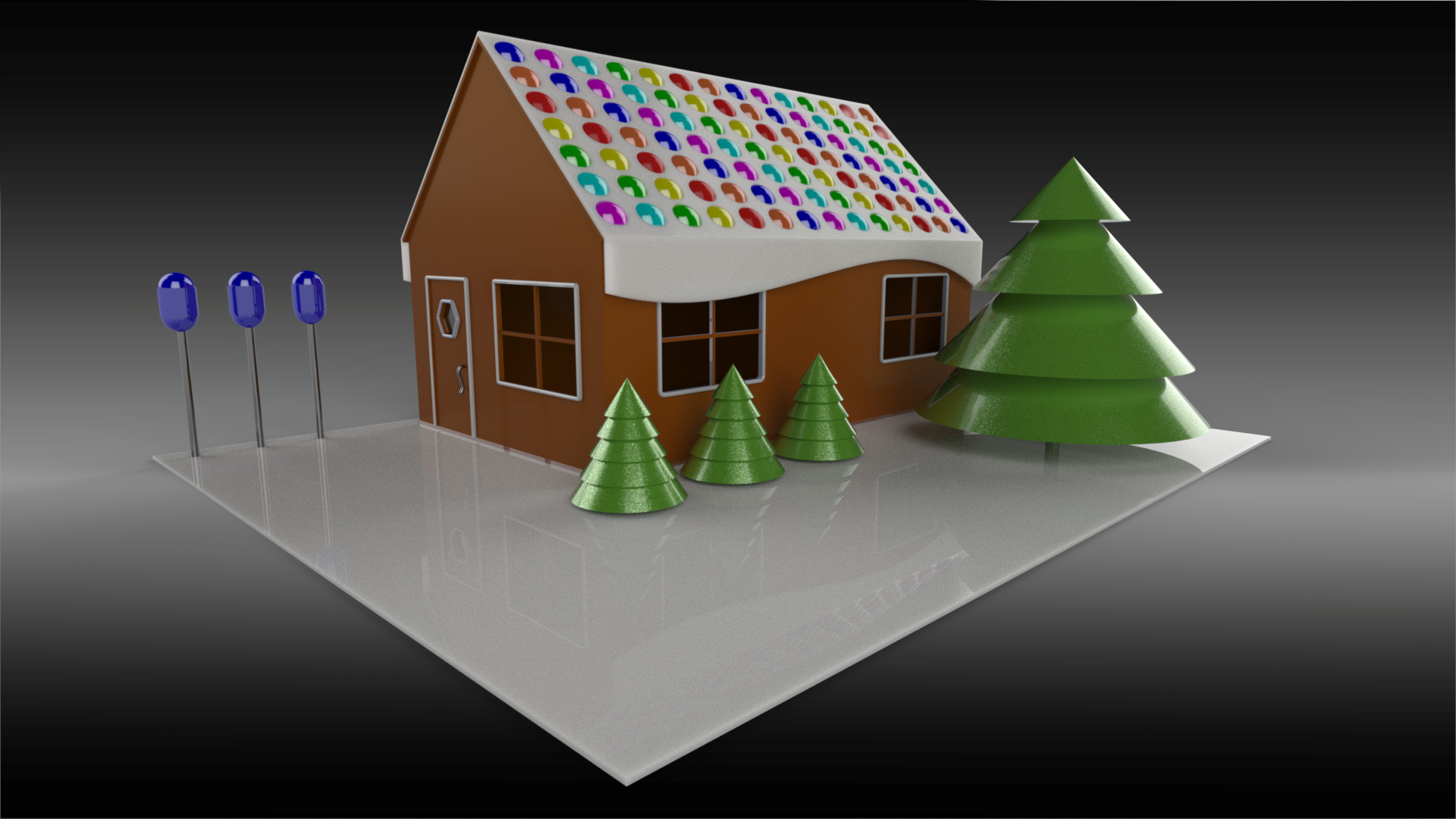 Solidworks magnetic mates make gingerbread house design easy - Make your house a home ...