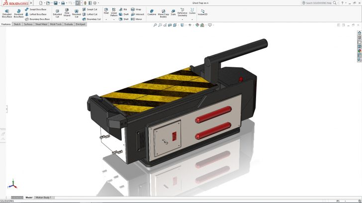 SOLIDWORKS Ghost Trap Tutorial – Part 1