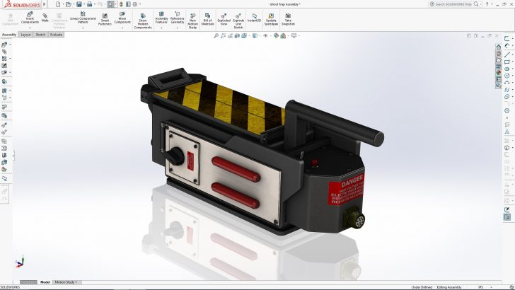 SOLIDWORKS Ghost Trap Tutorial – Part 3