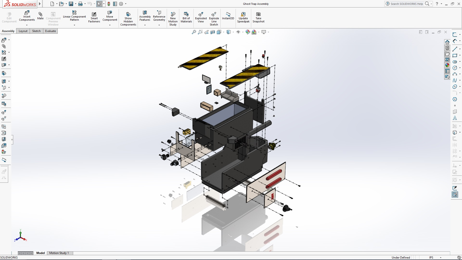 solidworks ghost trap tutorial