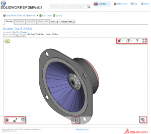 Great preview enhancement in SOLIDWORKS PDM Web2 2017 - image1