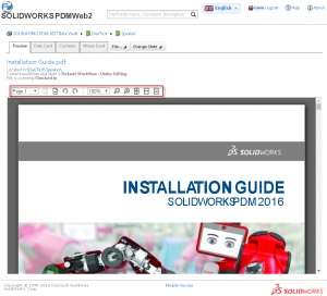 Great preview enhancement in SOLIDWORKS PDM Web2 2017 - image2