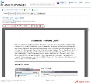 Great preview enhancement in SOLIDWORKS PDM Web2 2017 - image4