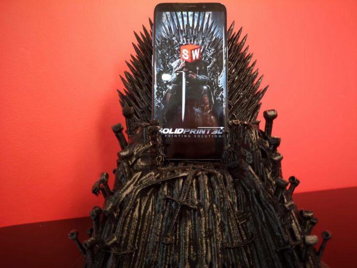 Printing the Iron Throne