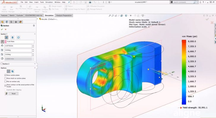 Introduction to SOLIDWORKS Simulation – Finite Element Analysis