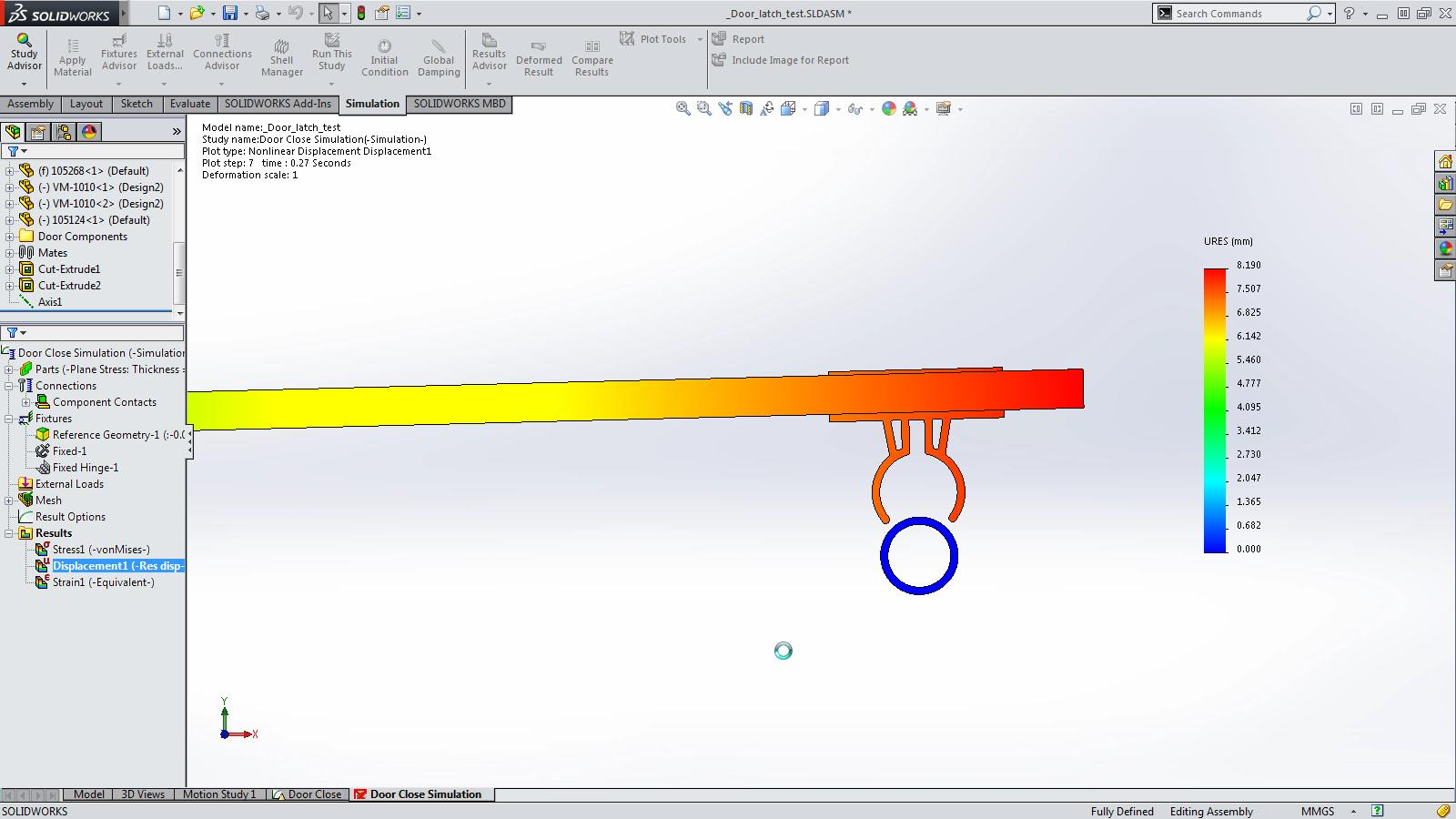 SOLIDWORKS 2015 Sneak Peek: Incremental Simulation Results
