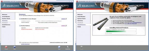 Installation of new version of SolidNetwork License Server