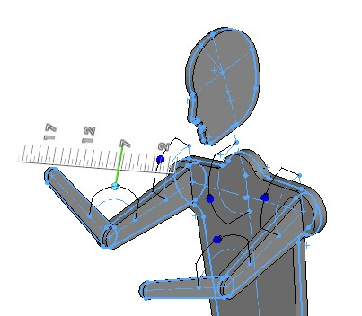 SOLIDWORKS Part Reviewer: Instant 3D Mannequin