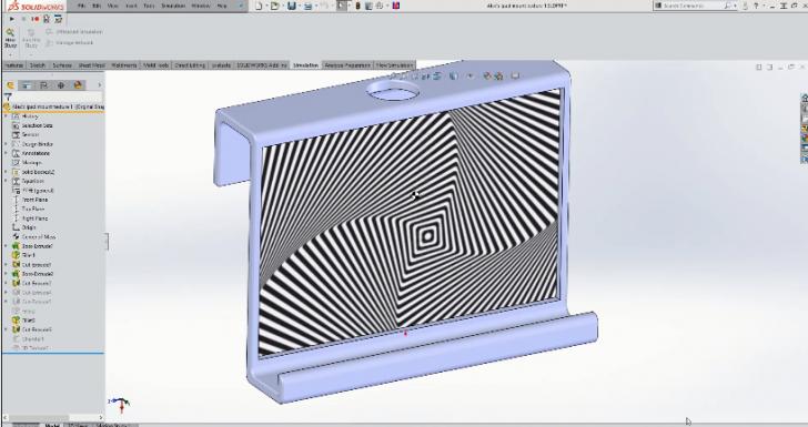 3D Printing a Custom IPad Stand
