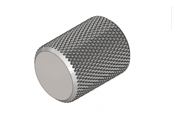 SOLIDWORKS Part Reviewer: Knurling Tutorial