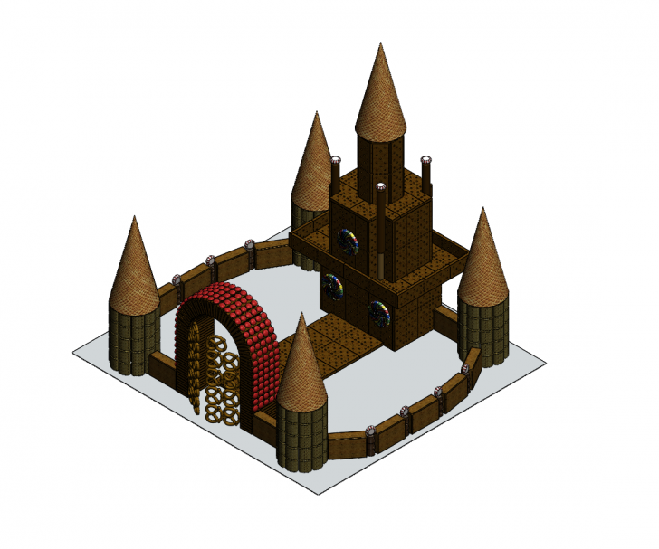 SOLIDWORKS Part Reviewer: Candy Castle Assembly Tutorial
