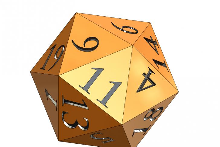 SOLIDWORKS Part Reviewer: Golden Icosahedron Tutorial