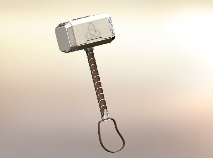 SOLIDWORKS Part Reviewer: Thor's Hammer Tutorial