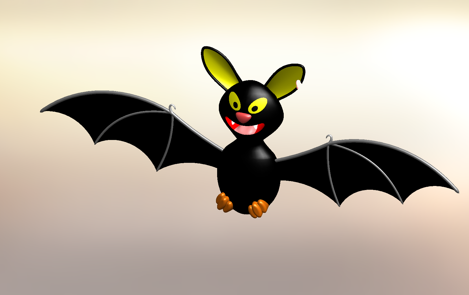 SOLIDWORKS Part Reviewer: Halloween Bat