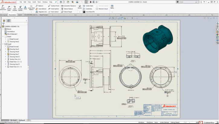Automate file checking with Design Checker in SOLIDWORKS