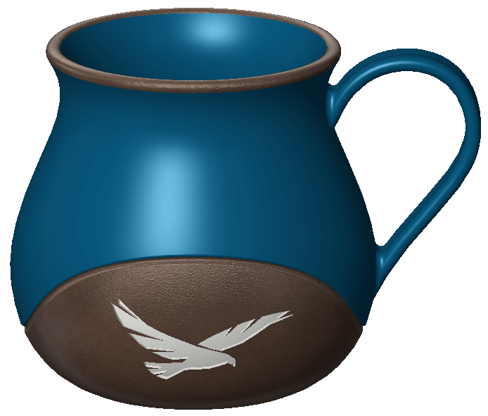 SOLIDWORKS Model for 3D printing - cup