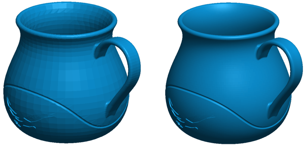 SOLIDWORKS Model Exported Mesh Files
