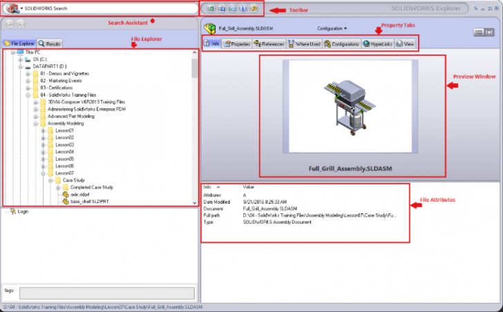 SOLIDWORKS Explorer: Managing File References in Windows