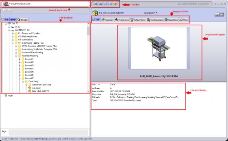 SOLIDWORKS Explorer: Managing File References in Windows