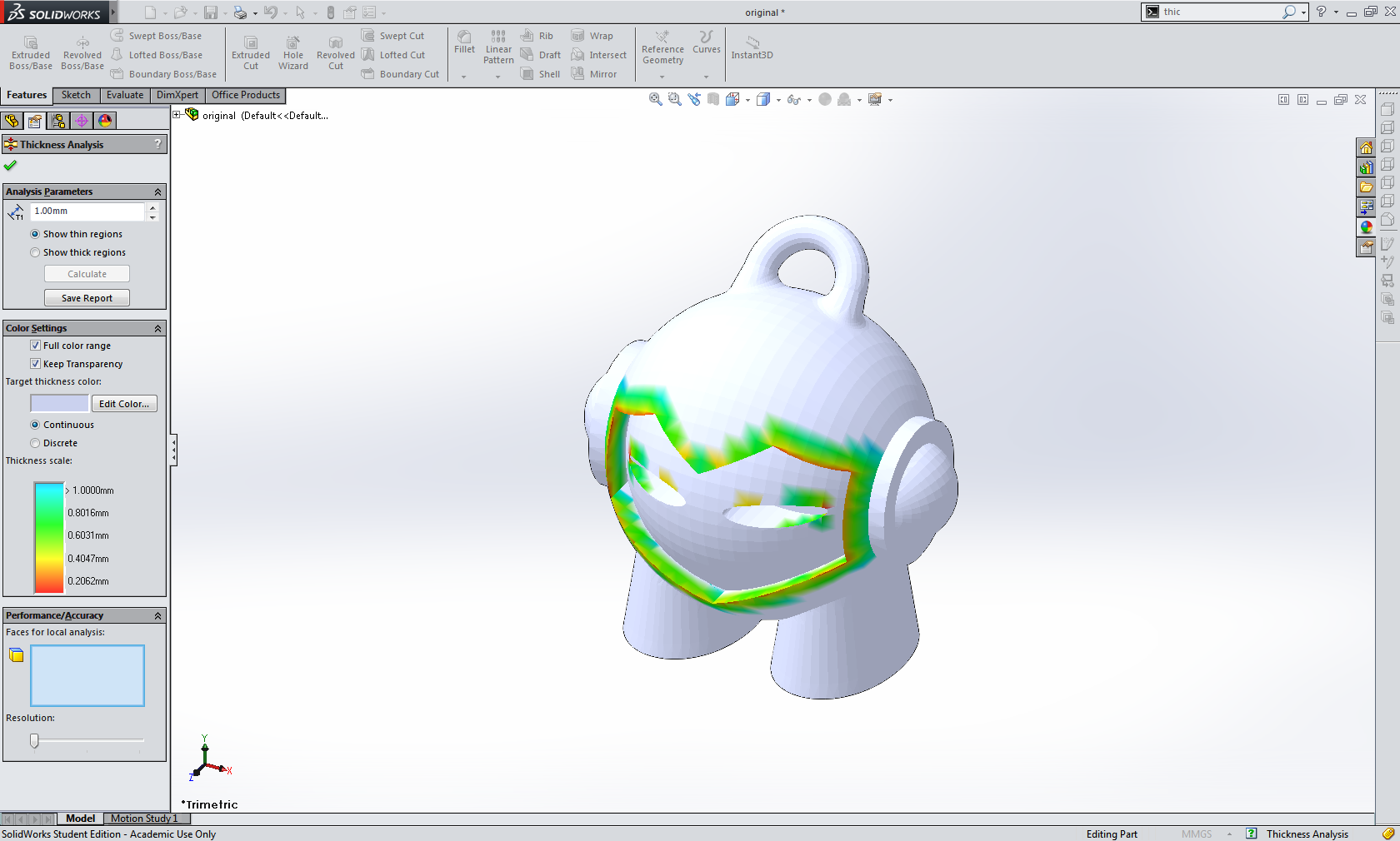 Solidworks 3d printing tips from 3d hubs for Design table not working solidworks