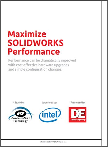 Maximize SOLIDWORKS Performance Cover
