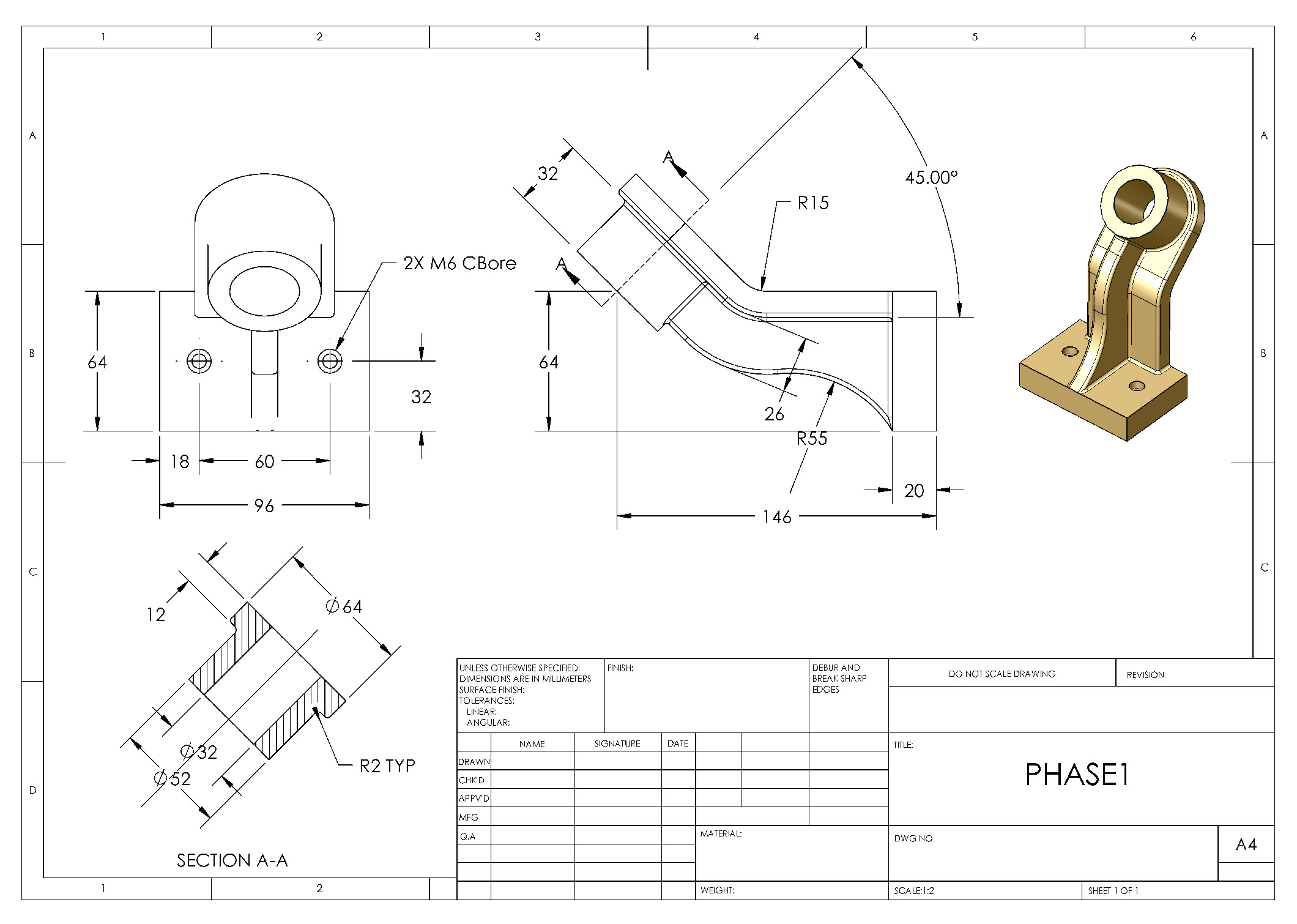 square tool post assembly drawing pdf
