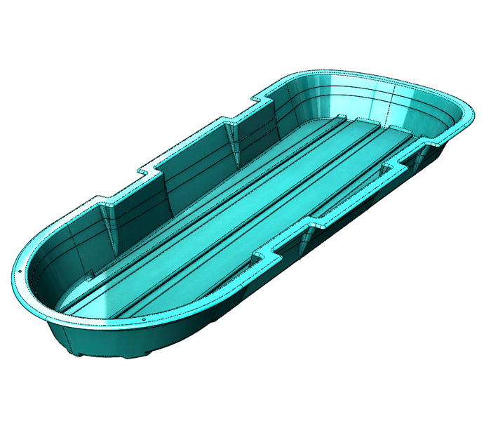 SOLIDWORKS Part Reviewer: Plastic Sled Tutorial