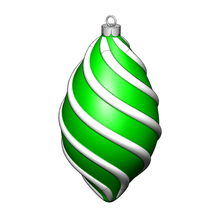 SolidWorks Part Reviewer: Spiral Ornament