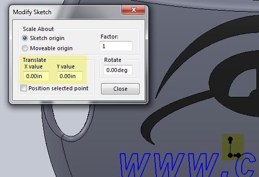 Modify Sketch-3