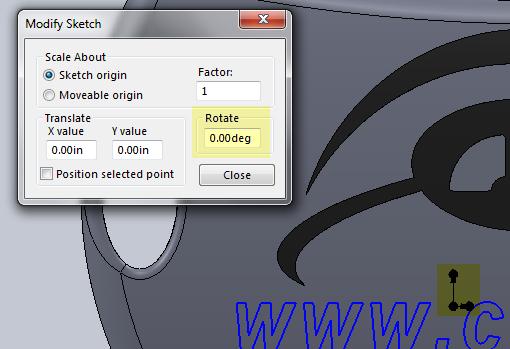 Modify Sketch-4