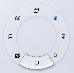 Mouse Guestures wheel