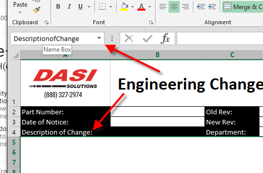 Excel Documents as SOLIDWORKS PDM Forms