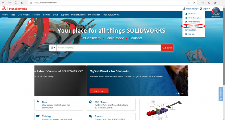 Convert your SOLIDWORKS standalone license to an online license