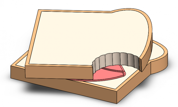 The Ham Sandwich Theorem in SOLIDWORKS