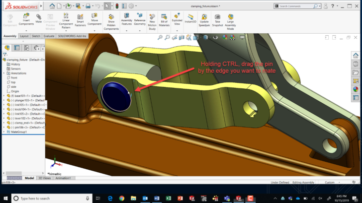 Copy & Mate by CTRL-Drag & Drop: SOLIDWORKS Tech Tip
