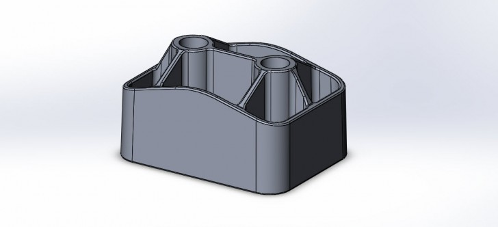 SOLIDWORKS Part Reviewer: Complex Drafted Ribs Tutorial