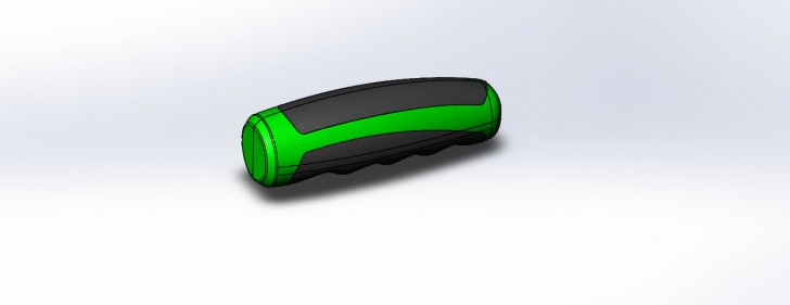 SOLIDWORKS Part Reviewer: Handle With Overmold Tutorial