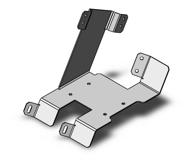 Solidworks Part Reviewer Mounting Bracket Tutorial