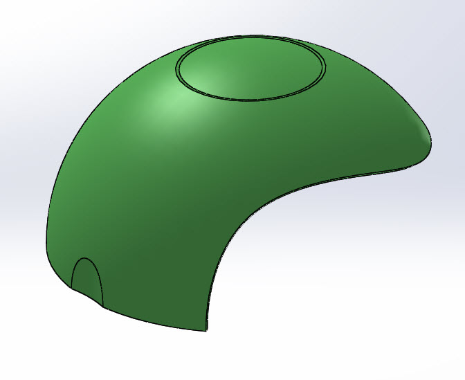 SOLIDWORKS Part Reviewer: Complex Surface Part 4 Tutorial