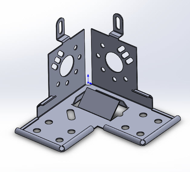 SOLIDWORKS Part Reviewer: Complex Sheet Metal Part 4 Tutorial