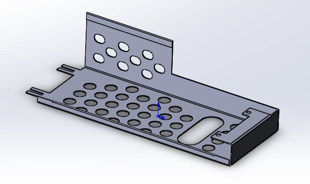 SOLIDWORKS Part Reviewer: Simple Sheet Metal Part 4 Tutorial