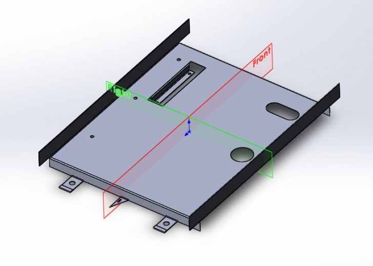 SOLIDWORKS Part Reviewer: Simple Sheet Metal Part 6 Tutorial