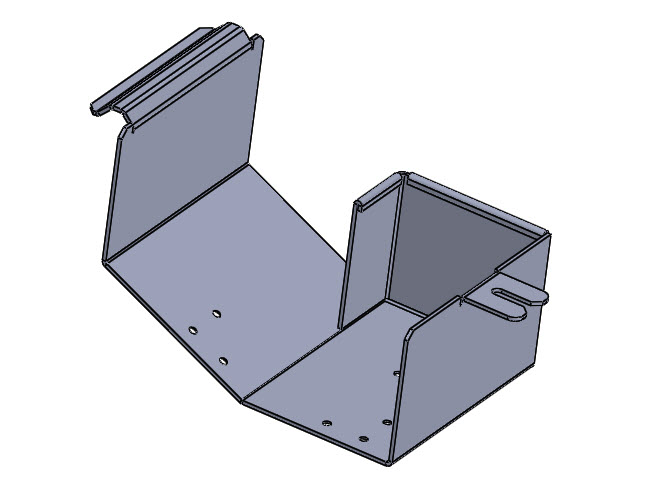SOLIDWORKS Part Reviewer: Simple Sheet Metal Part 9 Tutorial