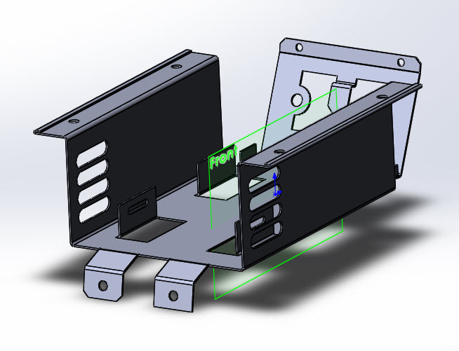 SOLIDWORKS Part Reviewer: Complex Sheetmetal Tutorial Part 3