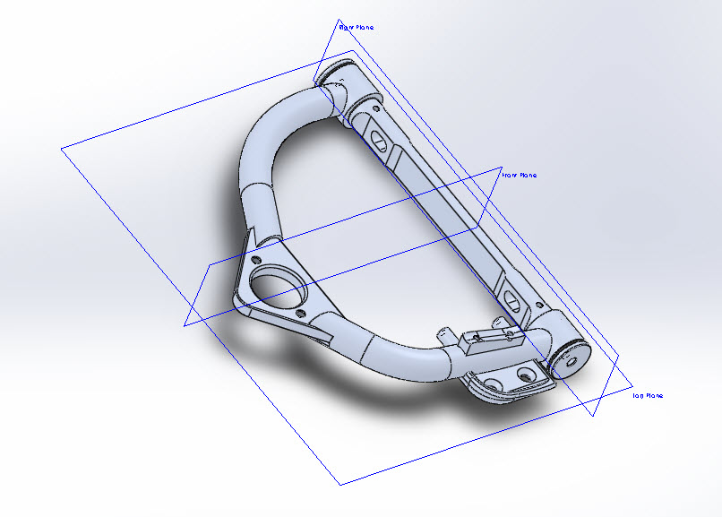 Solidworks Part Reviewer Complex Machine Part 4
