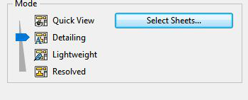 SOLIDWORKS CAD - Detailing mode