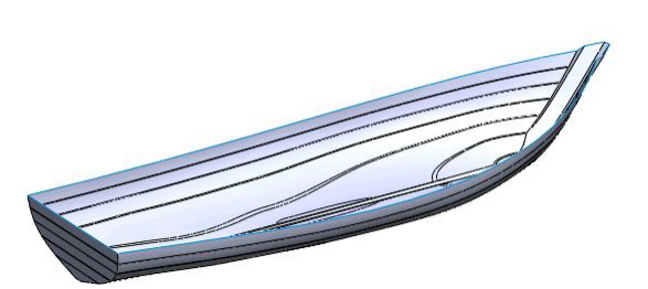 SolidWorks surface modelling
