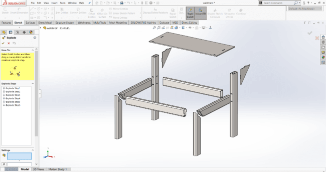 Multibody Part file in SolidWorks 2020