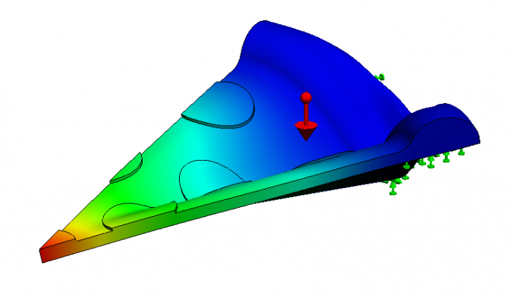 Mechanics of Mozzarella: Section Properties of Pizza in SOLIDWORKS