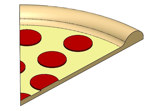 Pizza 3D CAD Model